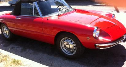 1969 Alfa Romeo Spider Round Tail